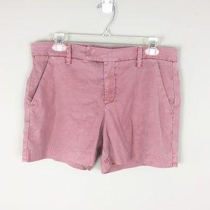 Level 99 | Anthro Red Wash Shorts